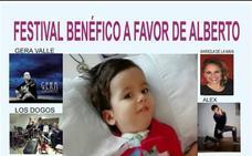 El teatro Alkázar acoge hoy un festival a beneficio del niño Alberto Ortega