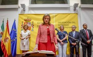Yolanda García Seco toma posesión como delegada del Gobierno en Extremadura