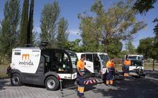 FCC compra en Mérida nuevos vehículos y máquinas para limpieza y jardines por 1,5 millones