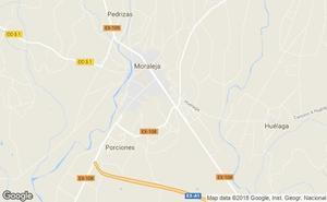 Una veterinaria sufre policontusiones tras ser golpeada por una vaca en una finca cercana a Moraleja