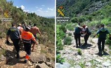 Rescatadas dos senderistas accidentadas en la sierra de Guijo de Santa Bárbara