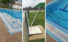 Vandalismo en la piscina del polideportivo Diocles de Mérida