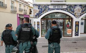 Siete detenidos y cuatro registros en una operación antidroga en Zafra