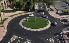 La nueva rotonda acorta los tiempos de desplazamiento en un punto clave del tráfico en Plasencia