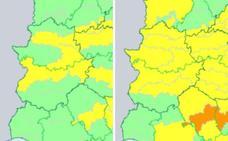La alerta amarilla por calor se amplía este domingo a gran parte de Extremadura