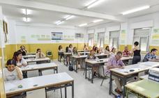 Las oposiciones docentes registran un 76% de asistencia