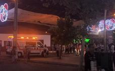 Cruz Roja atiende a 83 personas, 6 de una reyerta, en el segundo día de la Feria de Badajoz