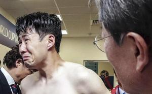 Las lágrimas de Son: la eliminación de Corea del Sur le obligaría a dejar el fútbol para hacer la mili