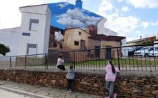 Romangordo, un museo de pintura al aire libre