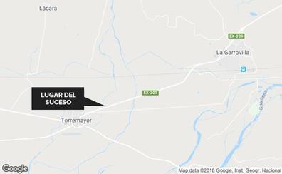 Herido tras una salida de vía a dos kilómetros de Torremayor