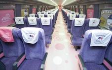 Un tren de alta velocidad rosa dedicado a Hello Kitty circulará por Japón