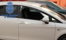 Detenido un hombre de 42 años por robar en varios vehículos en Badajoz