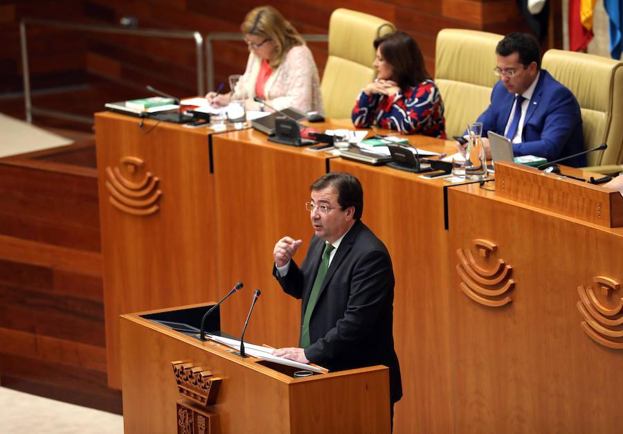 Vara abre el último Debate sobre el Estado de la Región de la legislatura