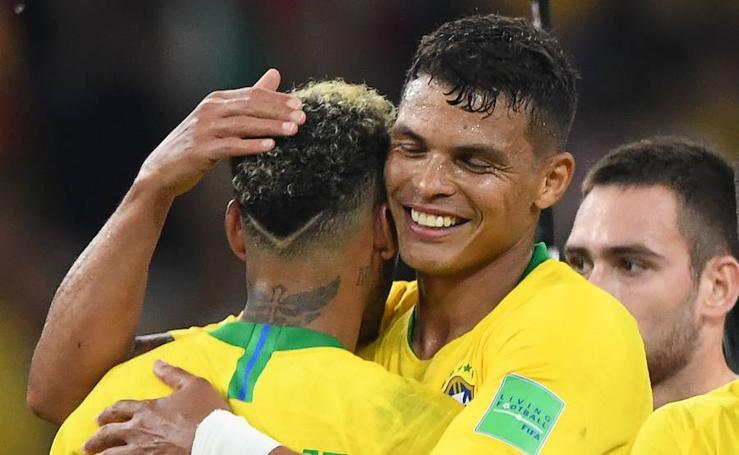 Brasil - Serbia, en imágenes