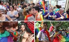 El colectivo LGTBI se manifiesta en Mérida en el Día del Orgullo