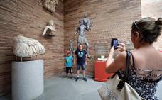 El Museo Romano acoge la muestra temporal 'Mythos. Creencia en Augusta Emerita'