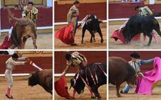 La ilusión se ahoga en tendidos vacíos de Badajoz