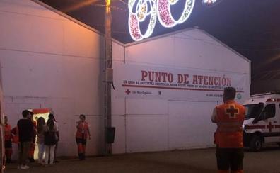 Acaba el operativo de Cruz Roja en la Feria de Badajoz con un balance de 267 asistencias