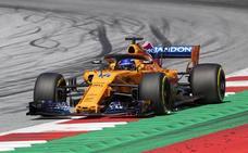 Alonso y el gol por toda la escuadra a McLaren