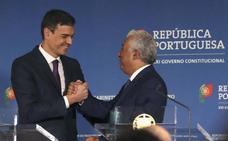 Pedro Sánchez y el primer ministro portugués sellan un «eje ibérico»