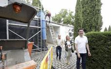 Las obras del cementerio de Cáceres terminarán antes del Día de los Difuntos