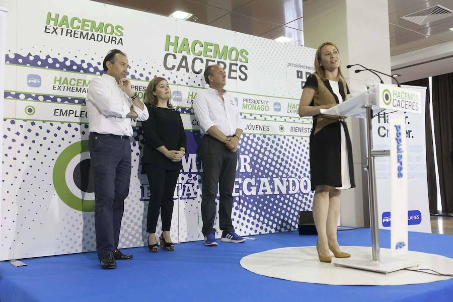 «Soraya tiene la fuerza suficiente para liderar al PP», señala Nevado