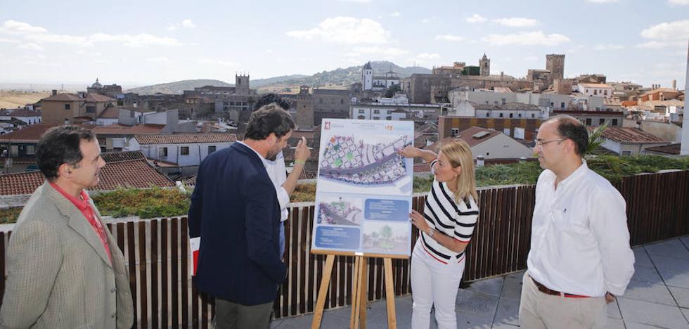 Empresarios de Galarza en Cáceres ya preparan alegaciones por la remodelación