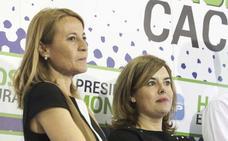 Elena Nevado apoyará a Soraya Sáenz de Santamaría para dirigir el PP