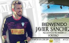 El Mérida completa su portería con Javi Sánchez