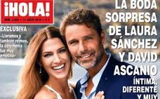 Laura Sánchez desvela detalles de su boda con David Ascanio