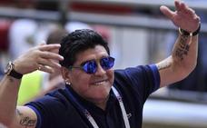Maradona califica de «robo monumental» la eliminación de Colombia