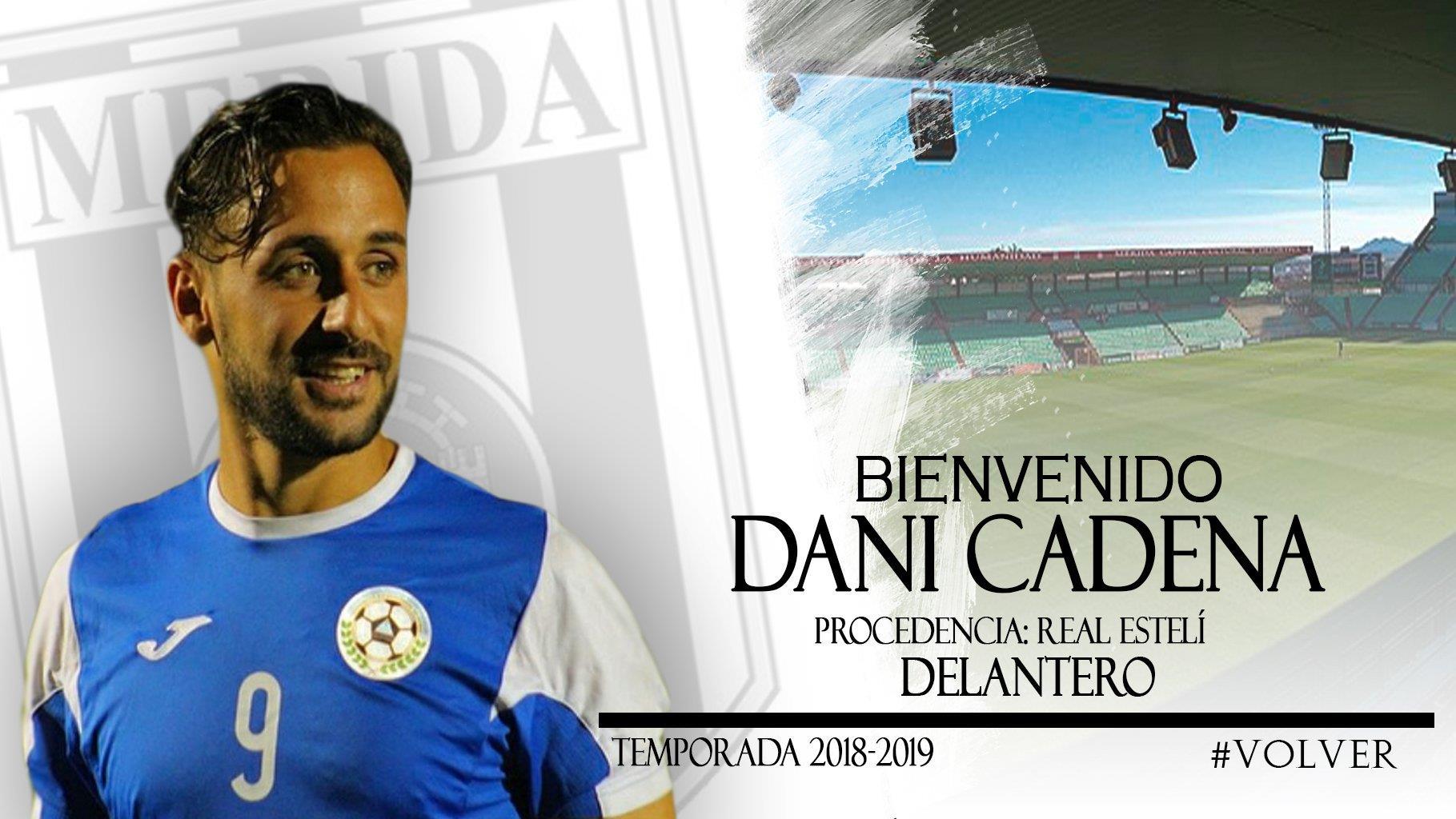 El Mérida anuncia el fichaje de Dani Cadena