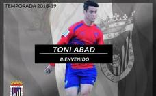 El Badajoz anuncia el fichaje del lateral sub 23 Toni Abad