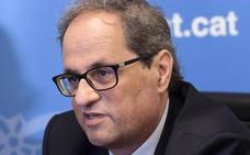 Torra propone a Sánchez una segunda reunión en septiembre en el Palau de la Generalitat