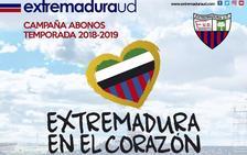 El Extremadura presenta su campaña de abonados para Segunda División