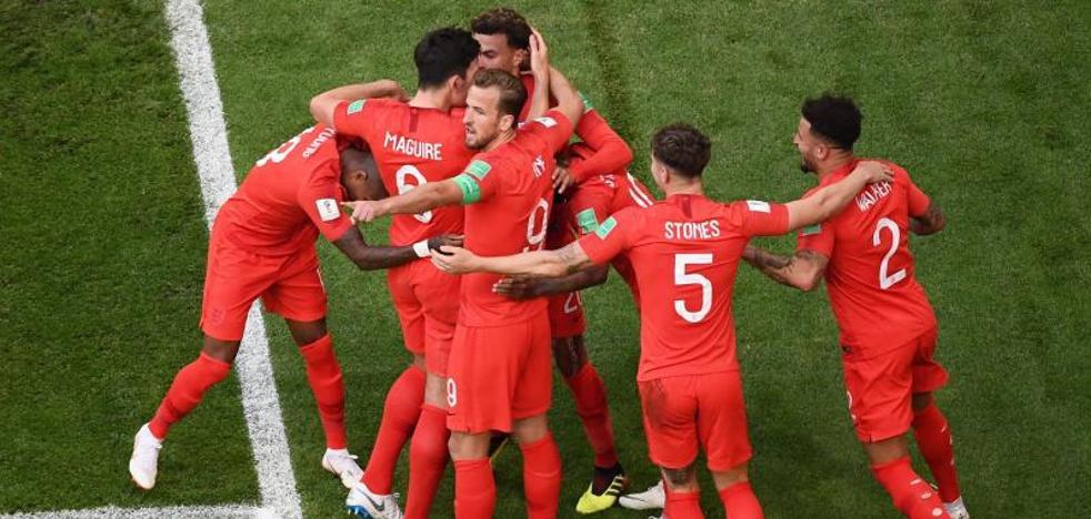 Pickford y el balón parado alimentan el sueño inglés
