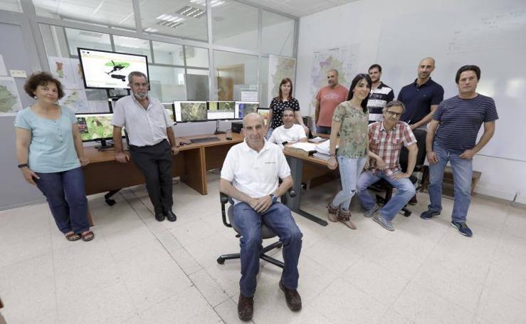 El centro operativo regional del Infoex, en imágenes