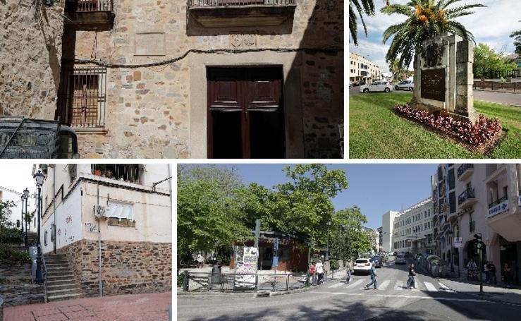 La huella franquista en Cáceres