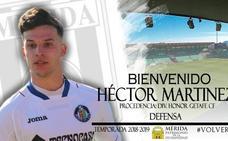 Héctor Martínez, lateral zurdo sub 23 para el Mérida