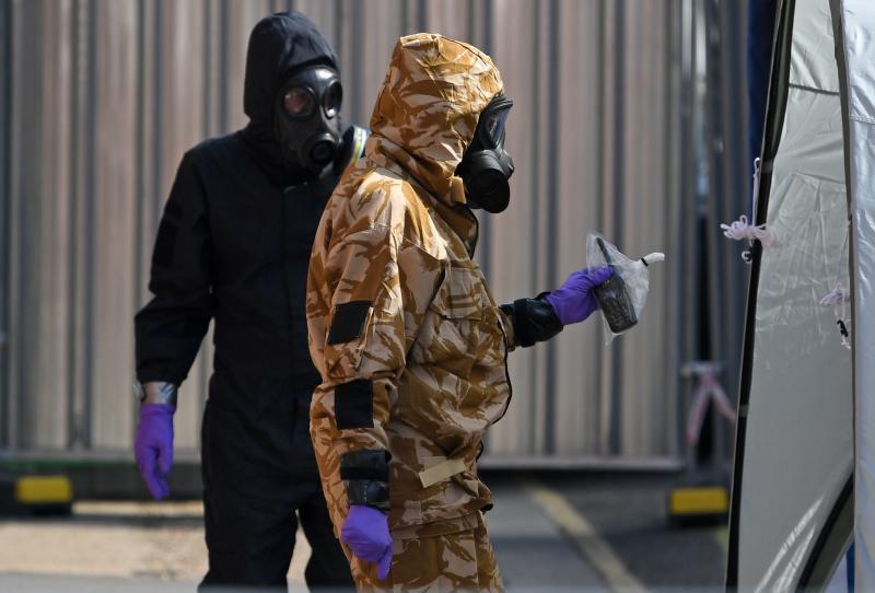 Muere la mujer británica afectada hace una semana por el mismo gas nervioso que los Skripal