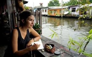 Alicia Aradilla, la aventurera que dibuja el mundo