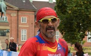 Kini Carrasco, campeón del mundo de duatlón en Dinamarca