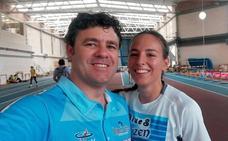 Nuevo récord de Lucía Sánchez en triple salto