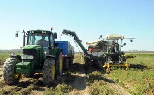 El Infoex recomienda aplazar la actividad con maquinaría agrícola durante estos días