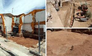 Una excavación descubre el suelo en el que empezó a construirse Mérida