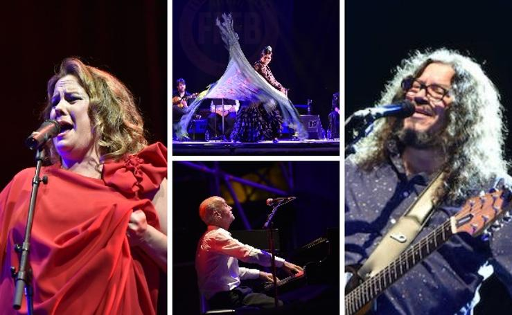 Esther Merino y Riamundo Amador, borche de oro para el Festival de Flamenco y Fado