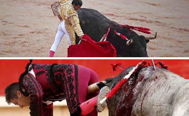 Calidad del cacereño Emilio de Justo; herido de gravedad Javier Castaño