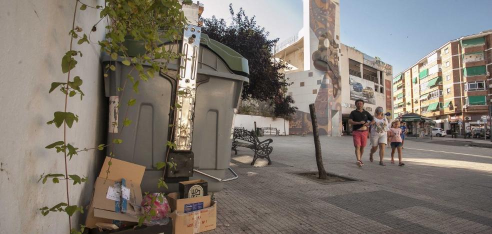 Los empresarios de Galarza insisten en que se oculten a la vista los contenedores