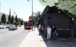 La cafetería de la estación del Paseo de Roma en Mérida vuelve a salir a concurso