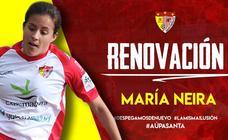 María Neira seguirá en el Santa Teresa